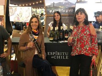 Aresti presente en Chile wine fest